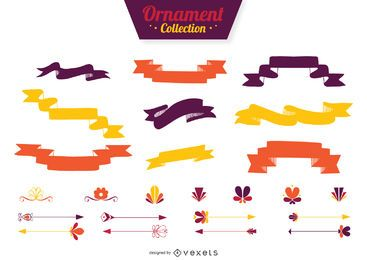 Flat ribbon dividers collection