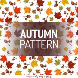 Falling leaves pattern