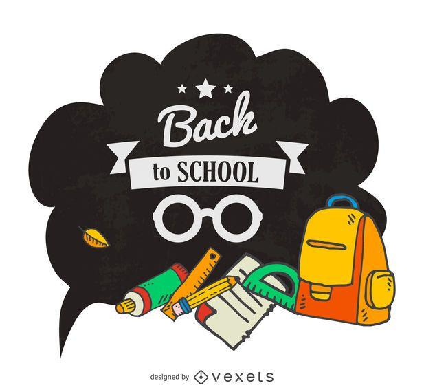 De volta ao balão da escola