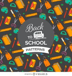 Patrón de regreso a la escuela