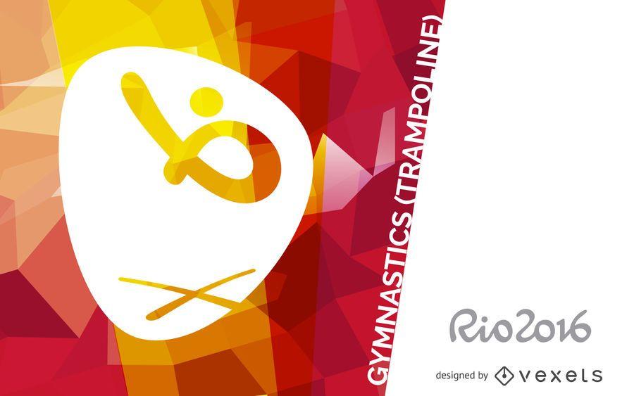 Rio 2016 trampoline gymnastics