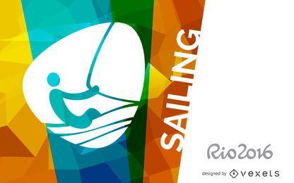 Bandeira da vela Rio 2016