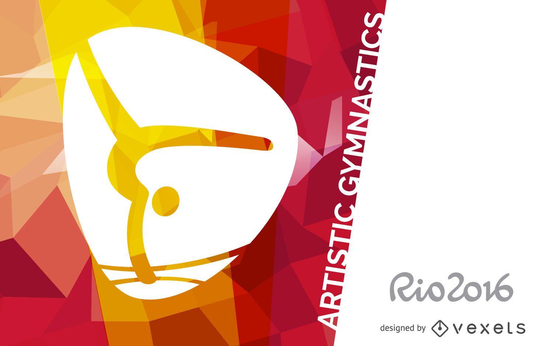 Rio 2016 artistic gymnastics banner