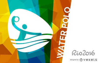 Rio 2016 water polo poster