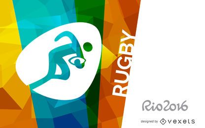 Banner de rugby Rio 2016