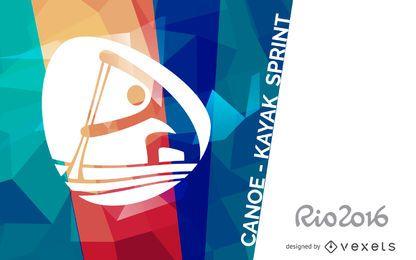Rio 2016 Canoagem Kayak Sprint