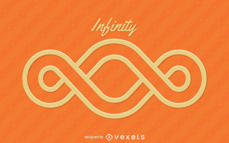 Infinity logo template - Vector download
