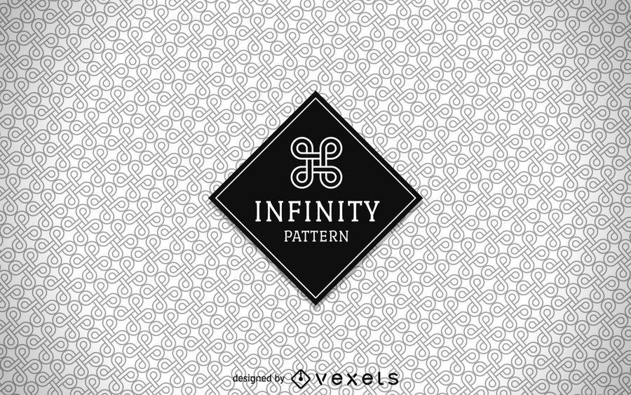 Seamless infinity pattern
