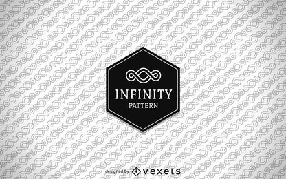Infinity pattern background
