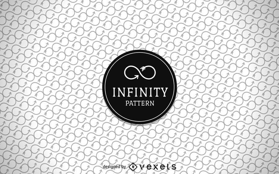Infinity arrow pattern