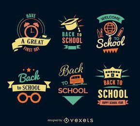 Voltar ao conjunto de etiquetas escola