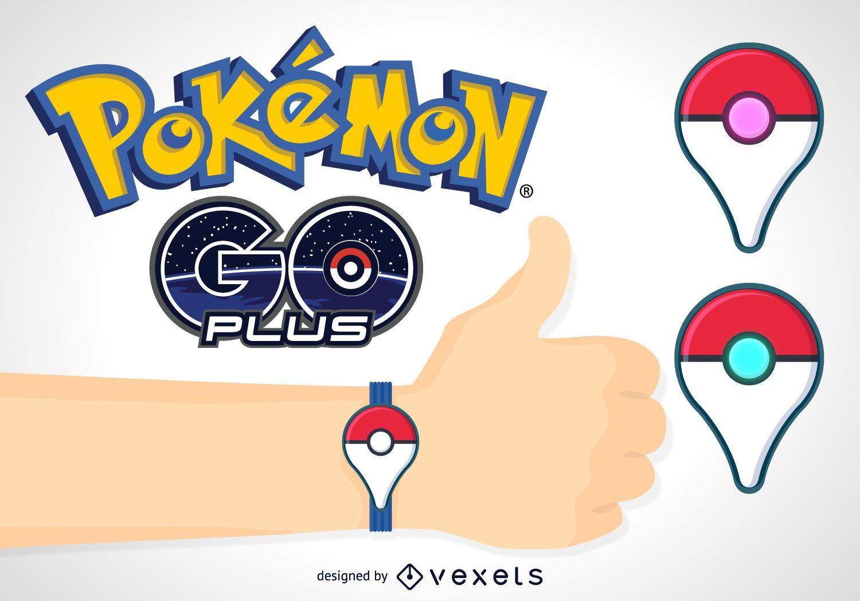 Pokémon GO plus banner