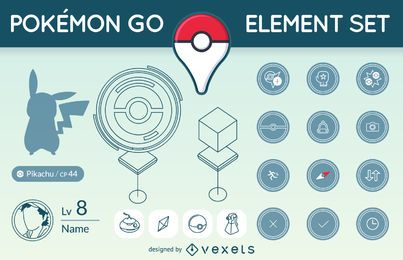Pokémon GO element set
