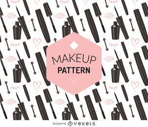 Patrón de maquillaje sin costuras
