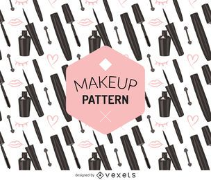 Seamless make up pattern
