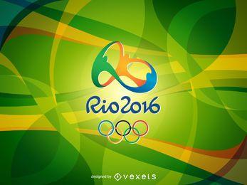 Banner brillante Rio 2016