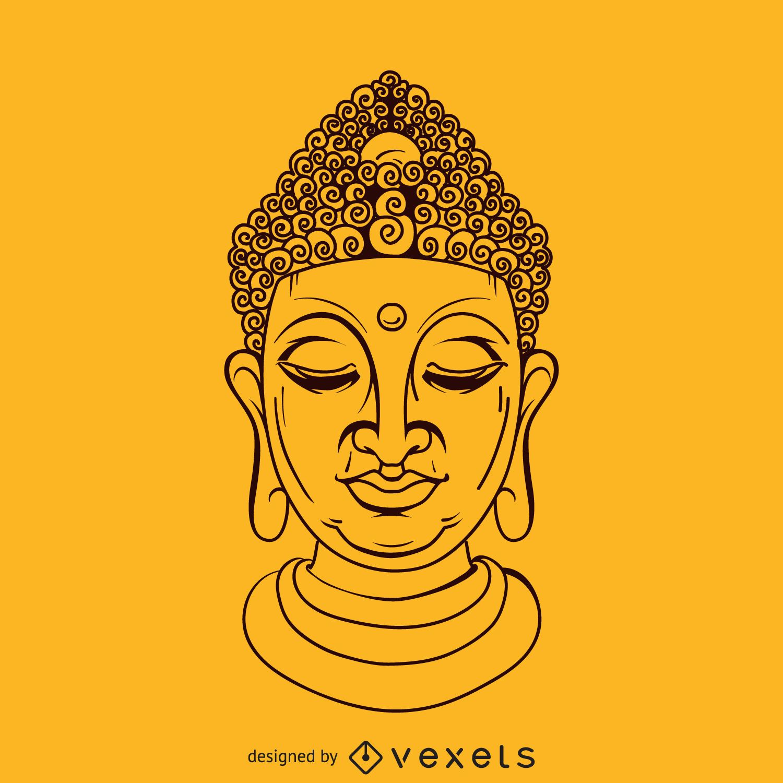 Eternal knot buddhism symbol vector download buddha face illustration biocorpaavc Gallery