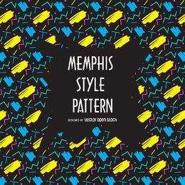 Patrón de los 90 de Memphis