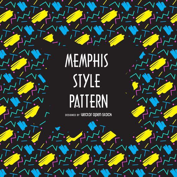 Memphis 90s pattern
