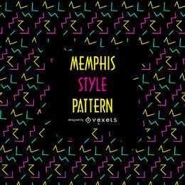 90er Jahre Memphis-Muster