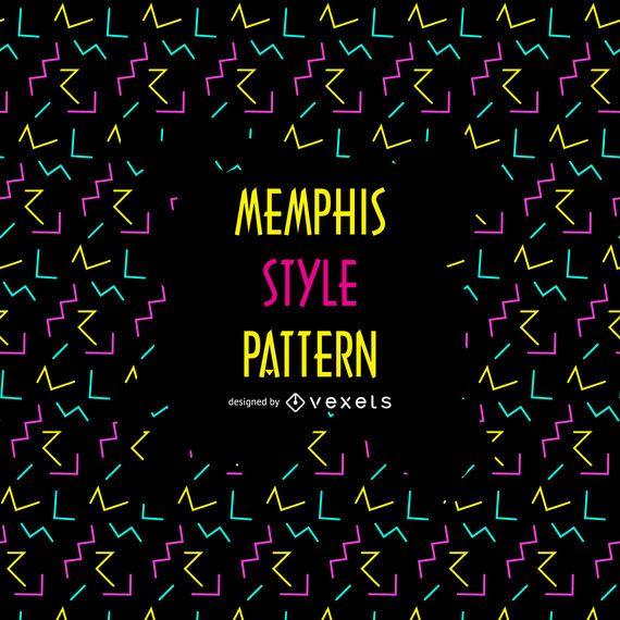 Memphis patrón de los 90