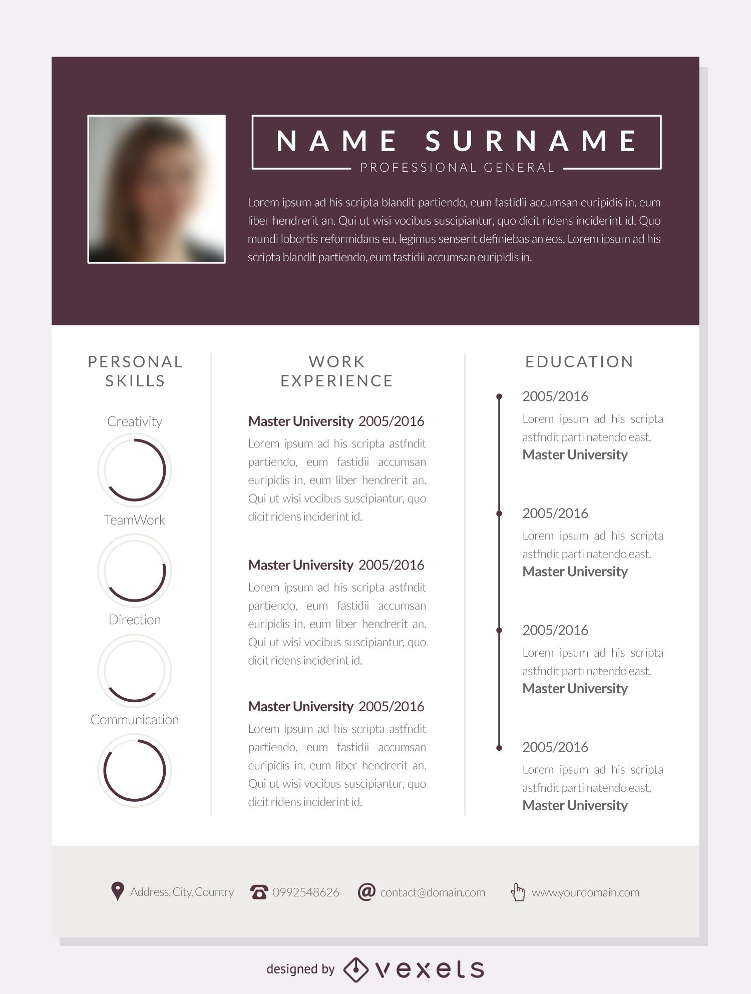 5e5bc997a26a8dbdac81f102f6a50529-columns-resume-mockup-template Template Commercial Reference Letter on for former employee, legal character, for coworker, sample business, personal job, for nursing professional, nursing school,