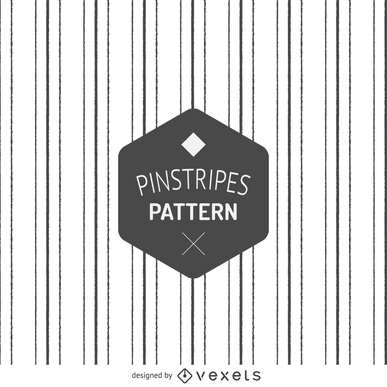 Hand drawn pinstripes pattern