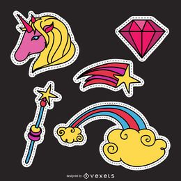 Unicorn magic patch set