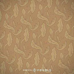 Jugendstil goldenes Muster