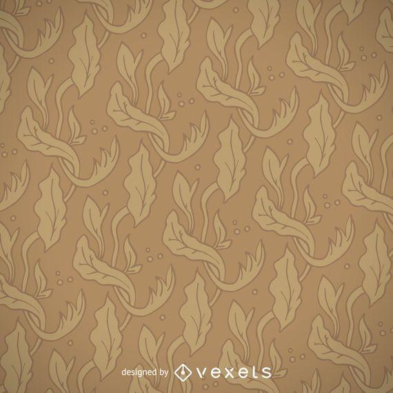 Art nouveau golden pattern