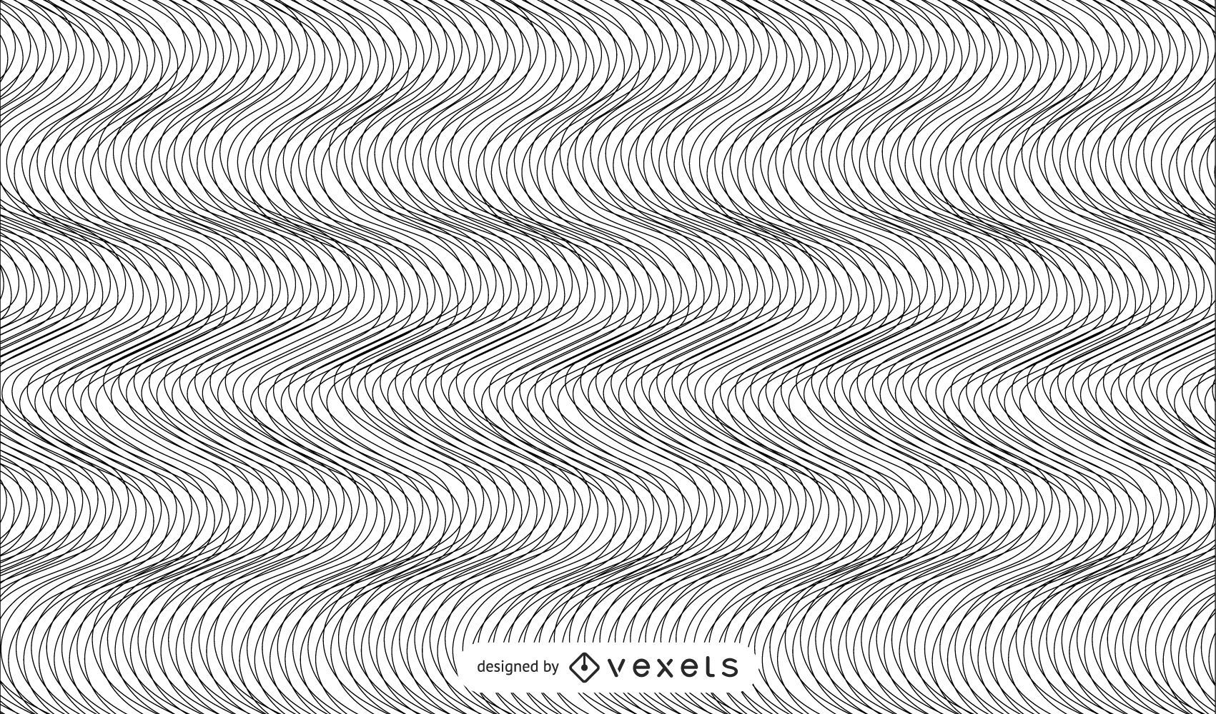 Moire or Wave Pattern
