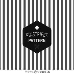 Black and white pinstripe pattern