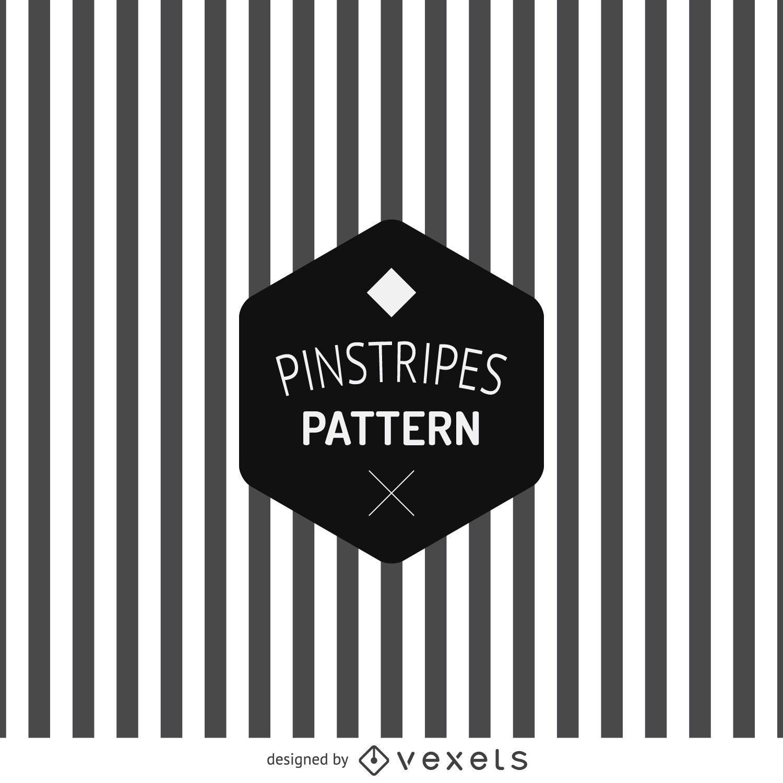 Black and white pinstripe pattern