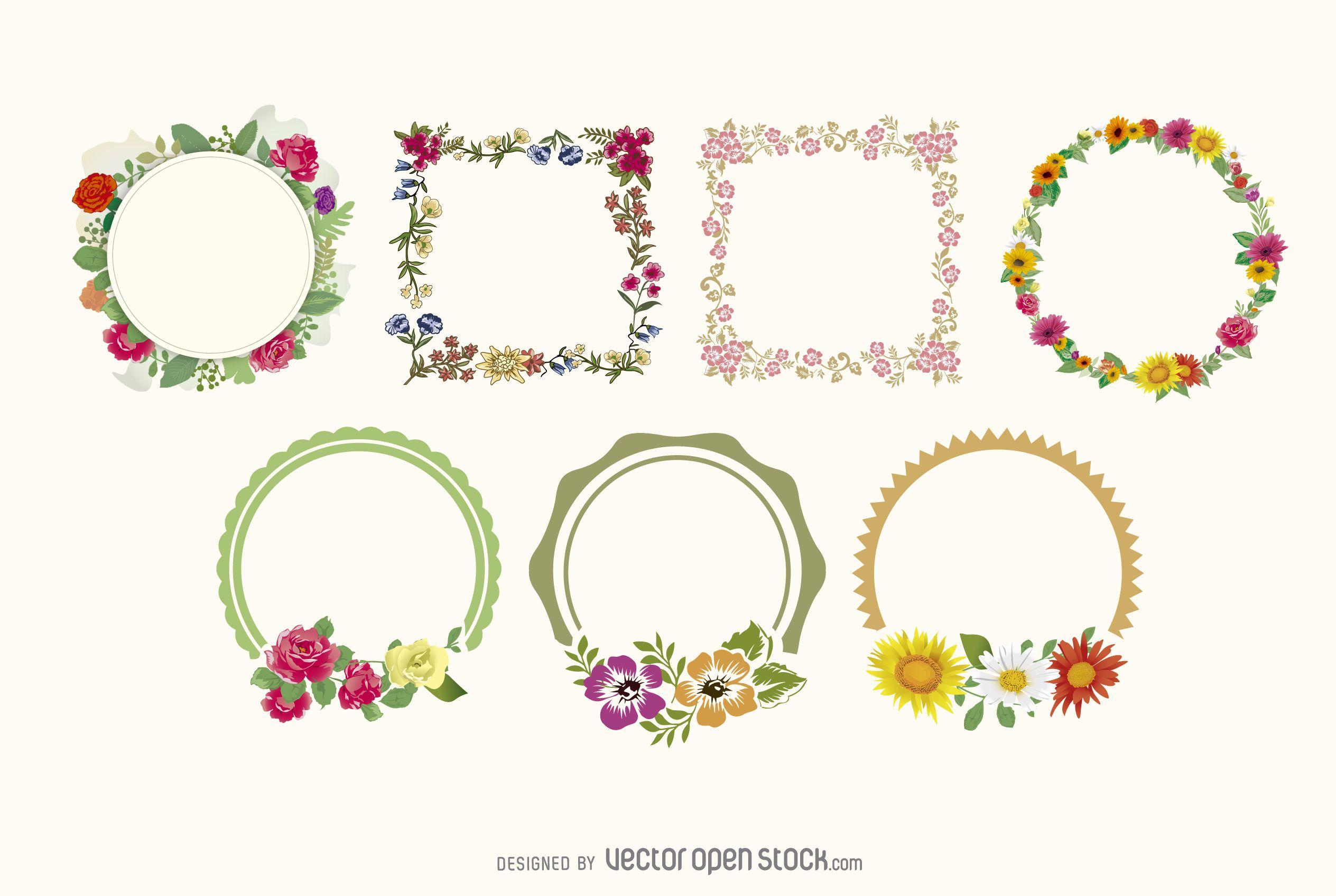 of floral frames - photo #36