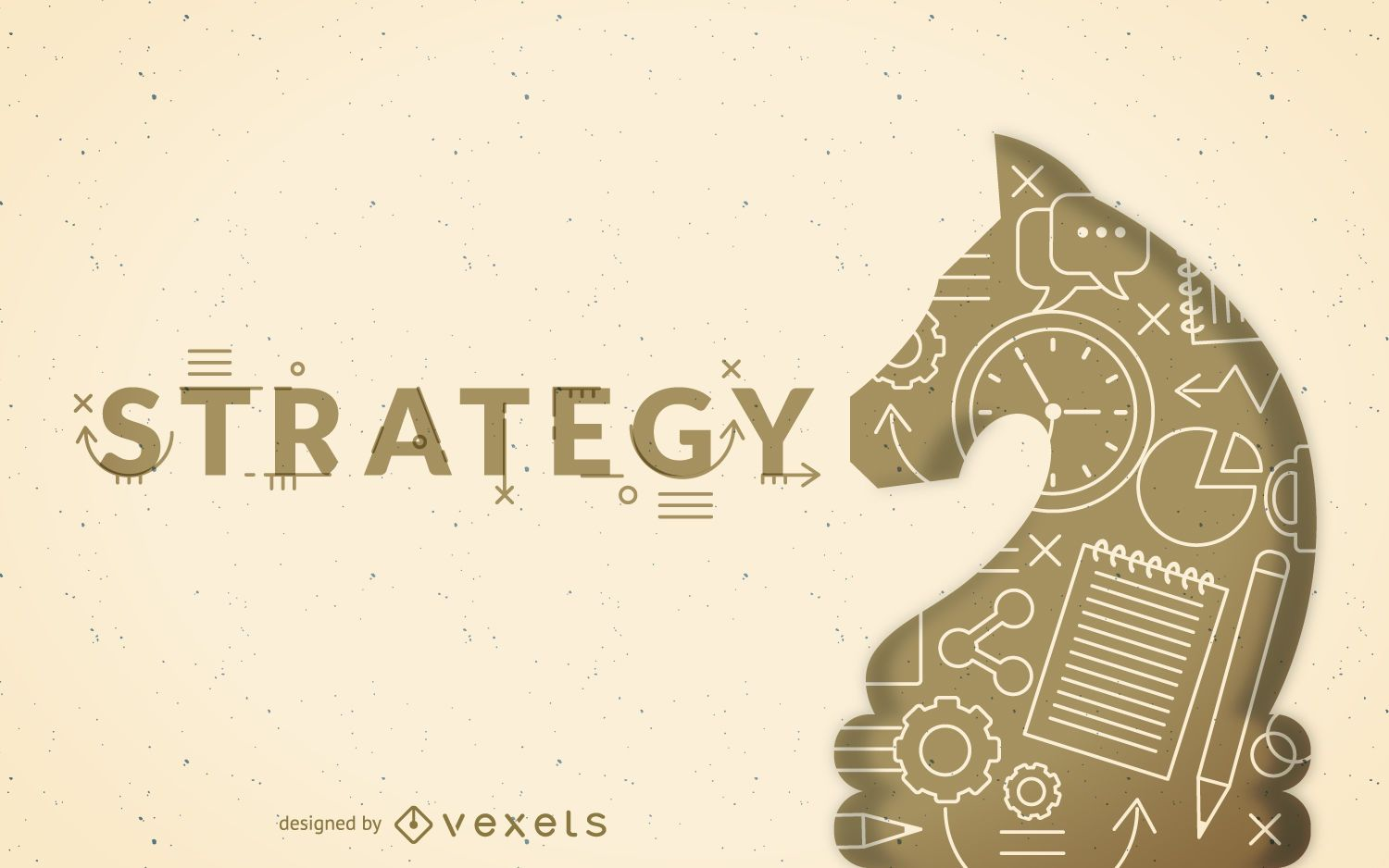 Strategy concept illustration