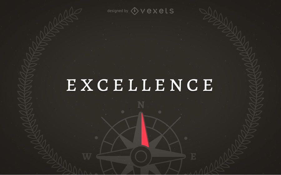 Excellence concept illustration