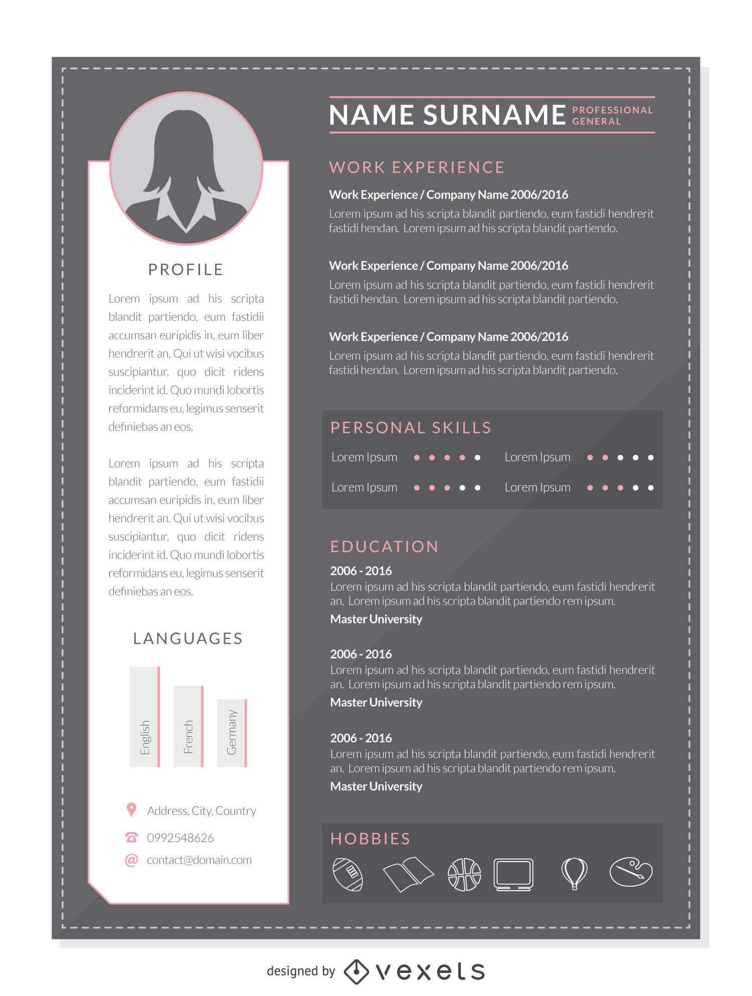 professional resume plus