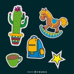 Children patches set