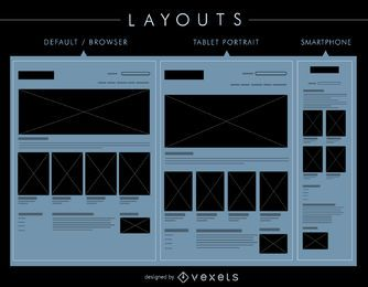 layouts UI definir