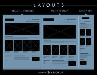 UI-Layouts festgelegt