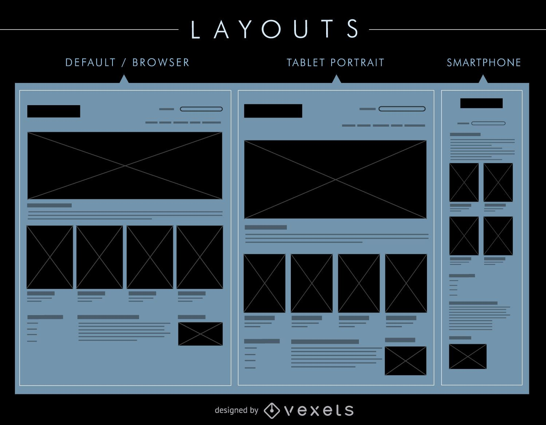UI layouts set