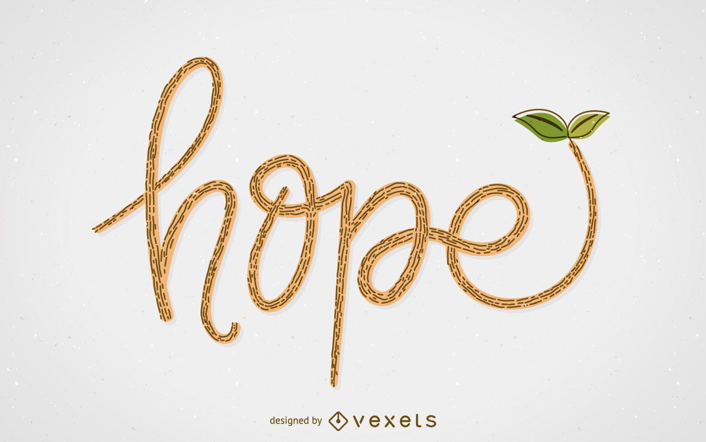 Hope concept illustration