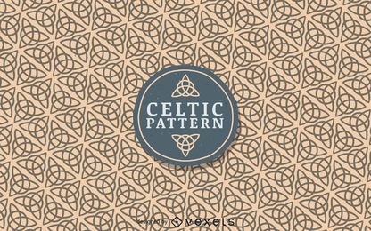 Keltisches Elementmuster