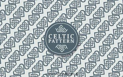Fondo de patrón celta nórdico