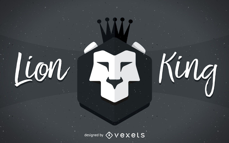 Lion King sign illustration