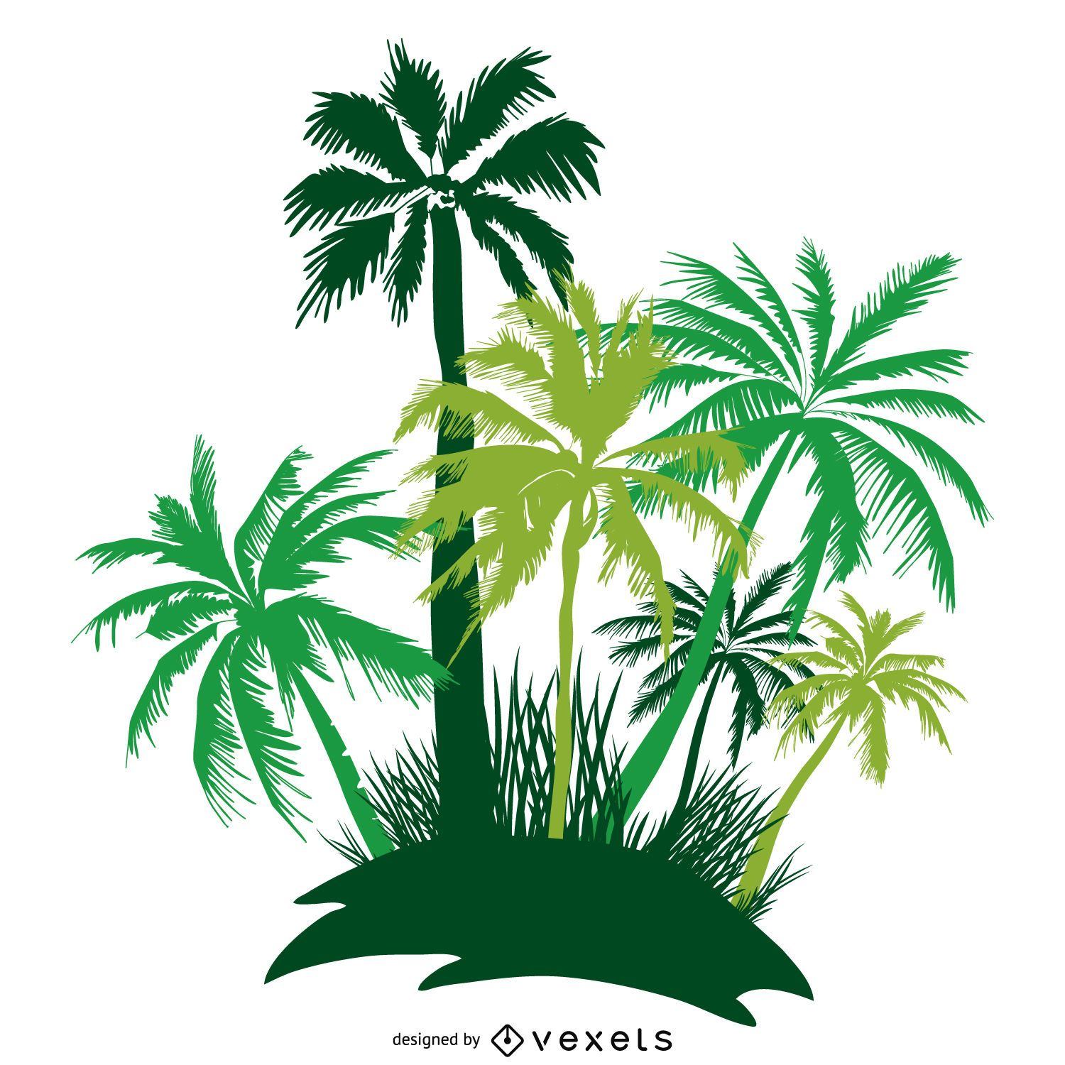 Palm tree Vector & Graphics to Download