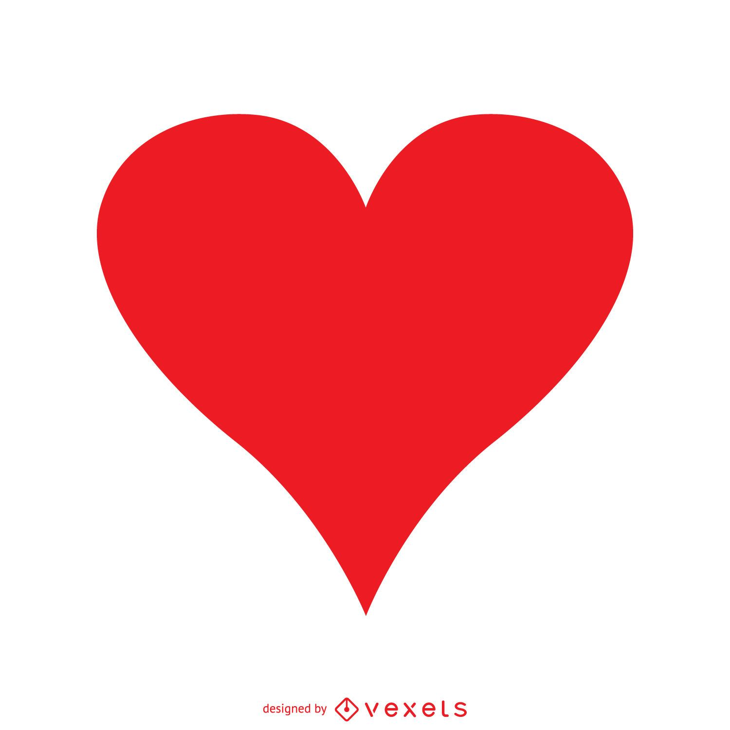 Isolated red heart vector download image user buycottarizona Gallery