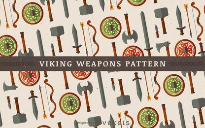 Patrón de armas vikingas