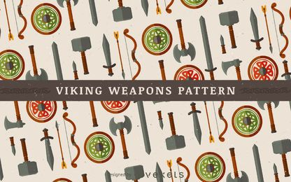 Viking padrão de armas
