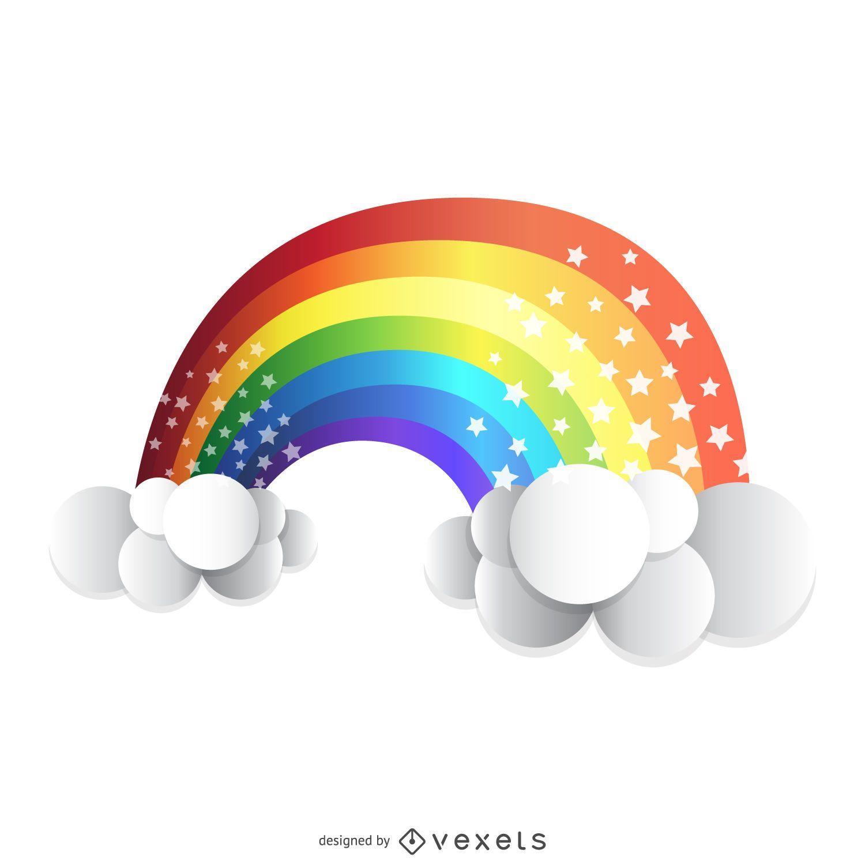 Isolated 3D rainbow